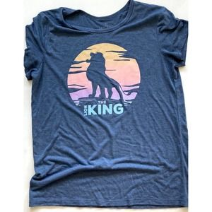 Disney Lion King Fitted T-shirt Size XL